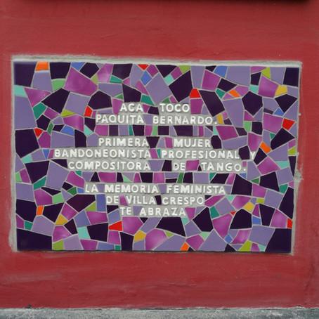 INAUGURAMOS MOSAICO FEMINISTA, HOMENAJE A PAQUITA BERNARDO