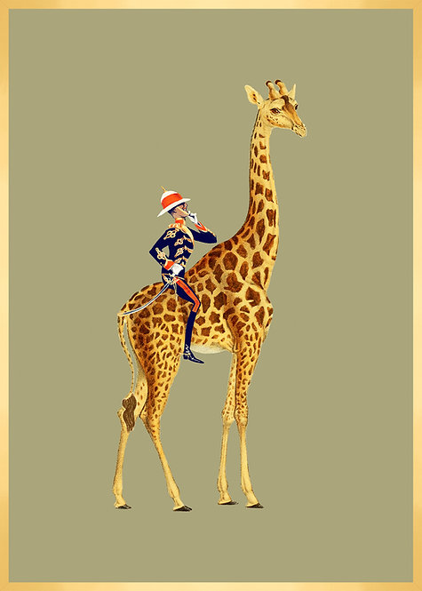 Monsieur Olaf et son amie la Girafe