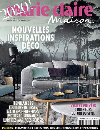 article sur nos produits Paradisio Imaginarium dans le magazine Marie Claire Maison