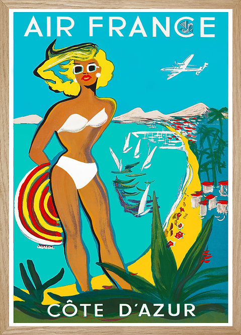 Illustration  Air France Côte d'Azur