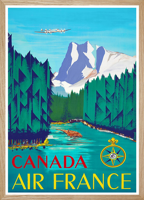 Illustration  Air France Canada