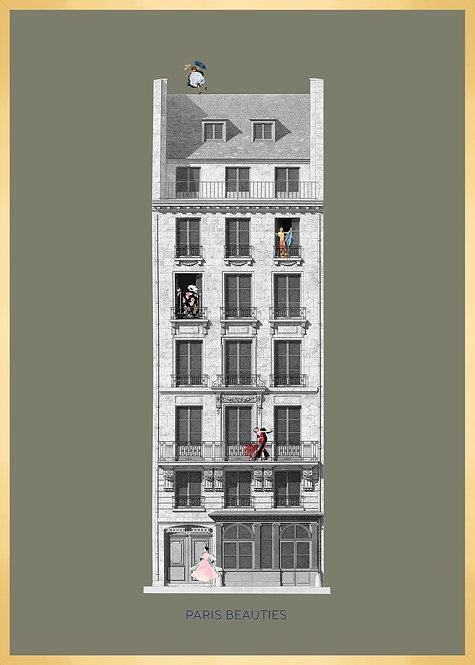 Illustration PARIS BEAUTIES