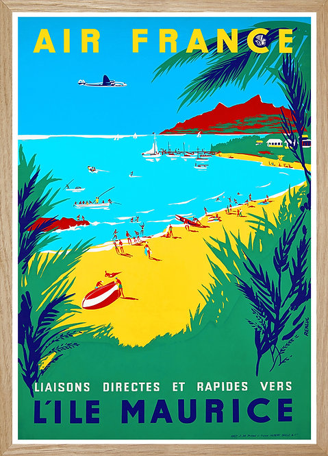 Illustration Air France Ile Maurice
