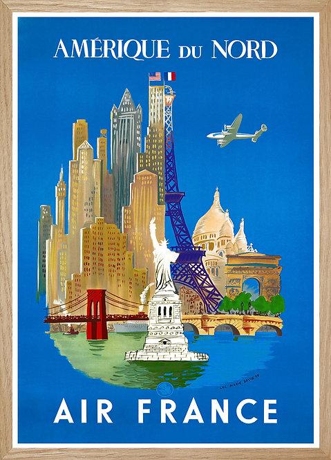 Illustration  Air France Amérique du Nord