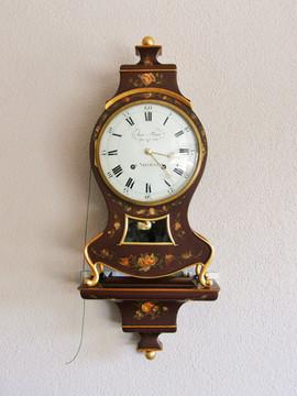 Isac Favre Directoire Swiss Neuchatel clock