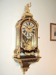 Boulle French clock