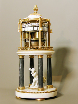 """""""Temple d'amour"""" Louis XVI French clock"""