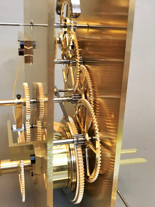 Austrian precision regulator clock Pöhl / RIEFLER