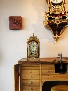 Louis XIV French clock signed Jean Godde Paris
