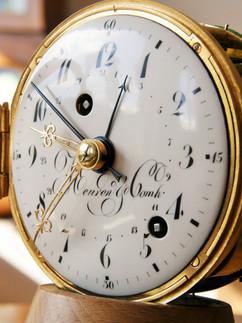 """Meuron et Cie """"Officier"""" clock"""