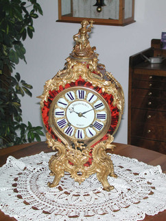 Louis XIV Decovigny French clock
