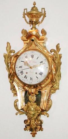 Gille Lainé Paris French cartel clock