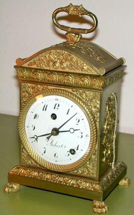"Robert Swiss ""officier"" clock"
