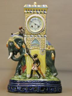 Kriégel & Hartmann Geneva Enamel clock