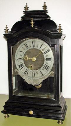 Samuel Haas Swiss clock