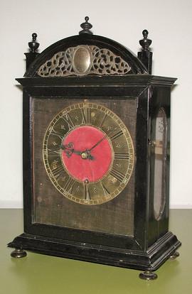 Mons in Vevey Swiss clock