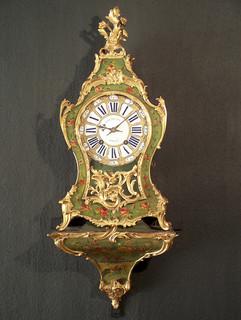 Louis XV French clock signed François à Metz