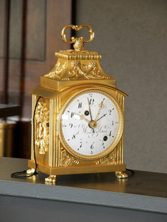 "Meuron & Cie ""Officier"" clock"