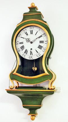 Rosetz Louis XV Swiss Neuchatel clock