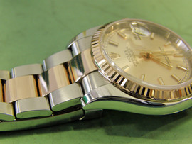 Rolex Oyster Perpetual two-tone