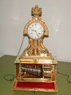 Louis XVI musical clock