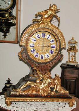 "Louis XIV ""Tête de poupée"" French clock"