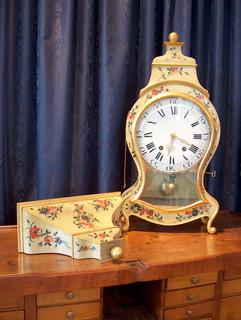 Louis XV Swiss Neuchatel clock