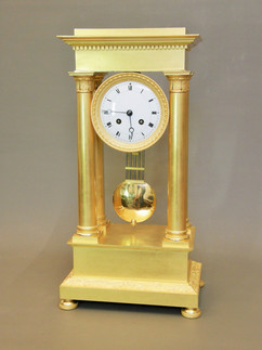 Empire French clock