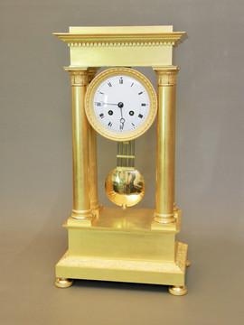 Empire French clock