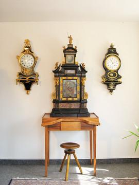 Night clock Campanus Romae 1682