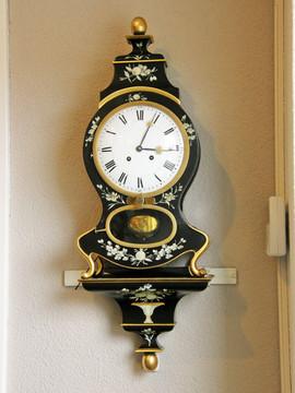 1840 Small Grande Sonnerie Aimé Billon Swiss Neuchatel clock
