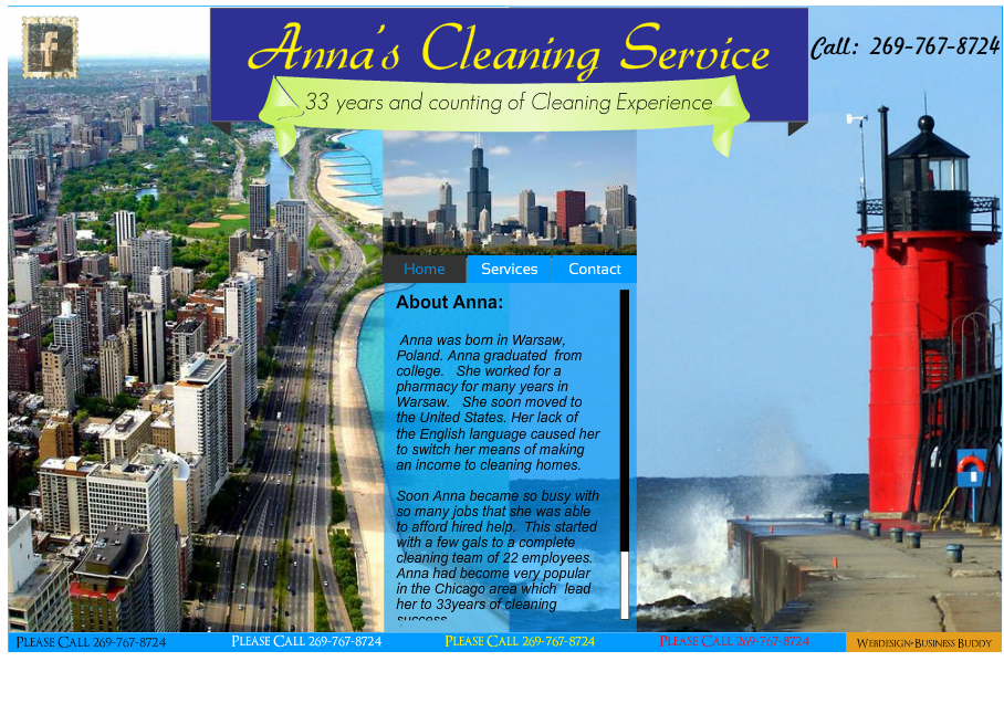Anna's Cleaning Service.