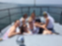 Bachelorette / Bachelor Parties on Jensen Charters in South Haven