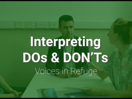 Do's & don'ts of working with an interpreter