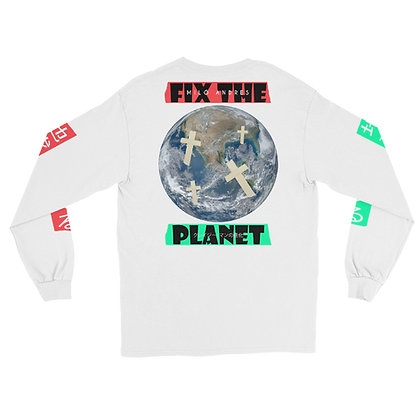 Fix The Planet  Tee Long Sleeve