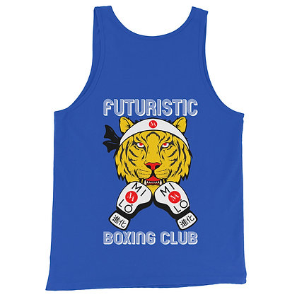 TANK 青い BATTLE CAT Azul