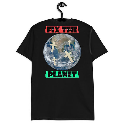 Fix The Planet Black Tee