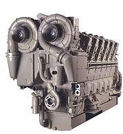 GE V250 diesel engine
