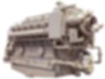 GE V228 diesel engine