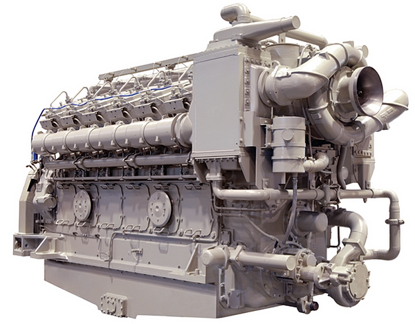 V228 general electric marine engine for General motors marine engines