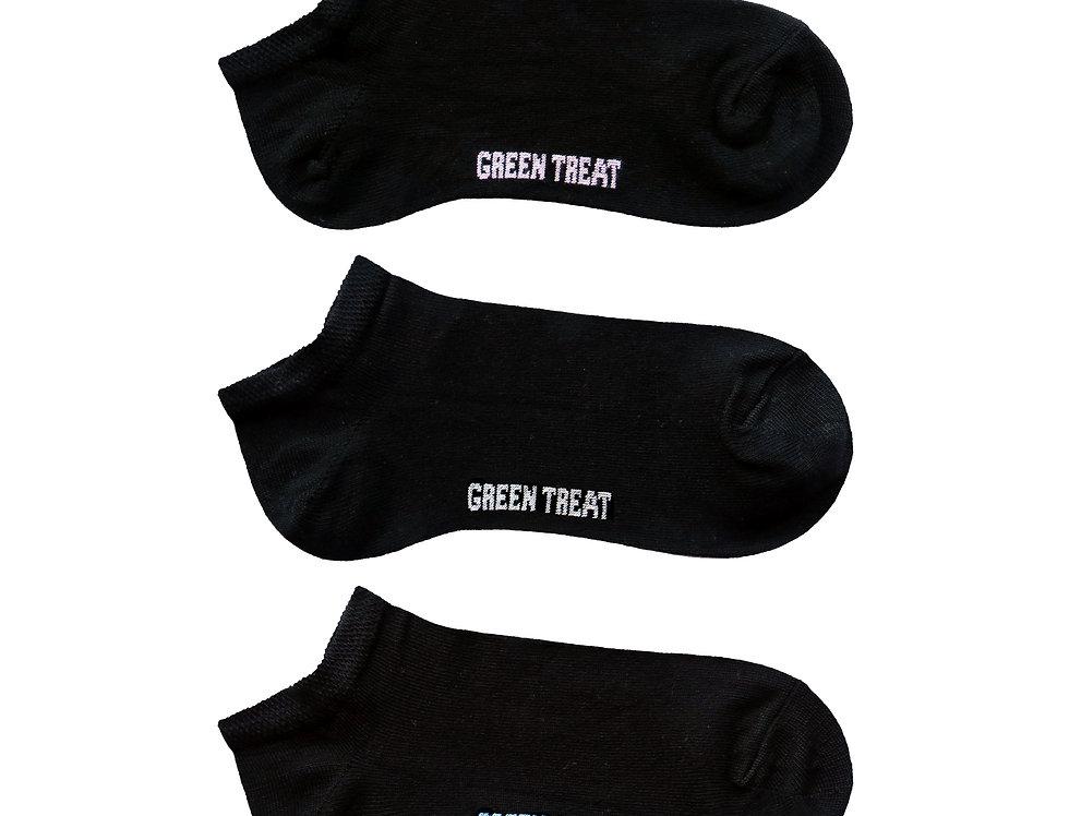 Ladies GreenTreat 3pk Bamboo Socks LSHGT1577