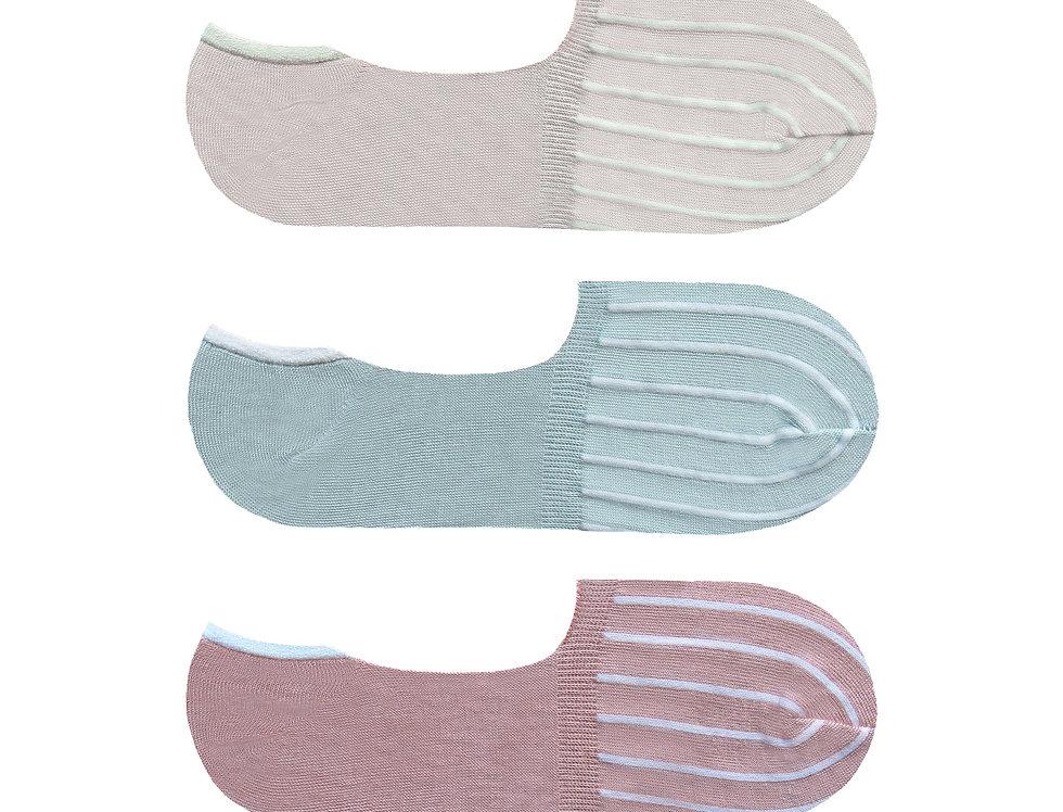 Ladies GreenTreat 3pk Bamboo Socks LSHGT1448