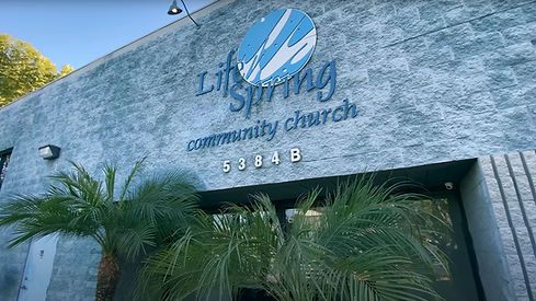 The outside of Life Spring Community Church.
