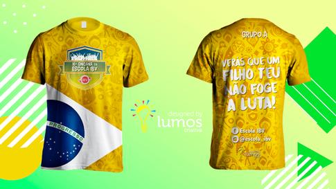 Camisa Gincana 2018 da Escola IBV