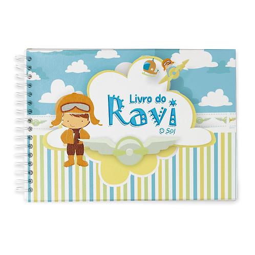 Livro do Bebê - Tema Aviador