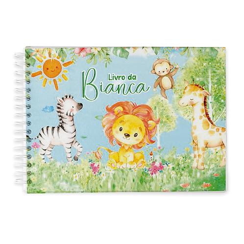 Livro do Bebê - Tema Safari