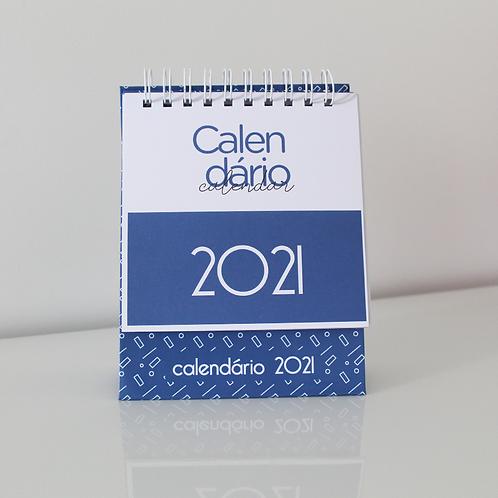CALENDÁRIO 2021 - AZUL