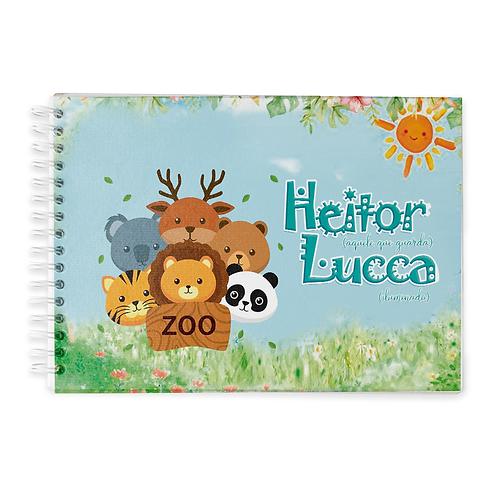 Livro do Bebê - Tema Zoo