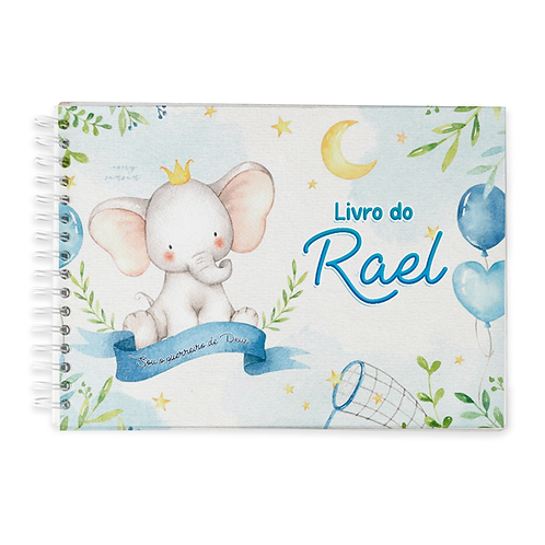 Livro do Bebê - Tema Elefantinho