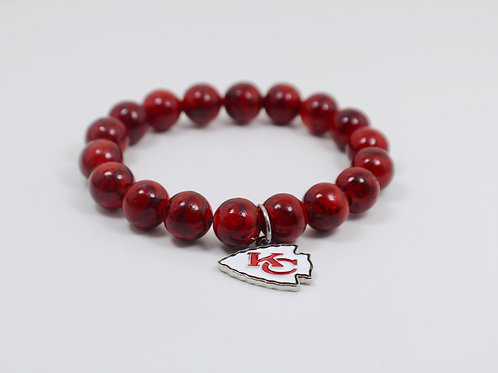 KC Chiefs Gameday Bracelet
